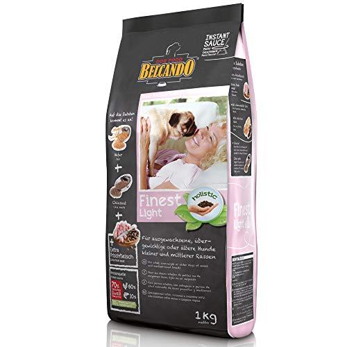 Belcando Finest Light [1 kg] Hundefutter   Trockenfutter für kleine & mittlere übergewichtige Hunde   Alleinfuttermittel für Hunde ab 1 Jahr