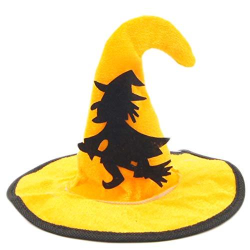 Ice con huisdier hoed, Halloween heks klassiekers schattige hoeden, voor hond huisdier dress up hoed topper kitten kleine honden fotografische