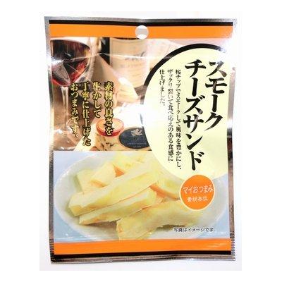 マイおつまみ スモークチーズサンド 21g×10袋