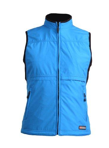 Women's MW Golf Softshell Vest, Sapphire Blue, X-Small