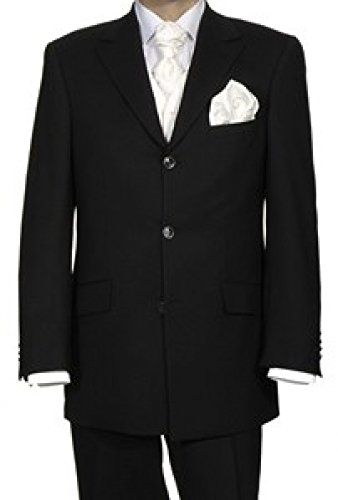 Masterhand Hochzeitsanzug Certo, schwarz, Gr. 98/50 Größe 98