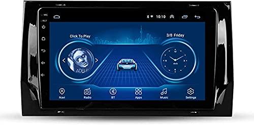 Android 8.1 Car Stereo GPS De Navegación del Coche para Skoda Octavia 2014-2018 10.1 Pulgadas Vídeo Estéreo Auto Radio Soporta Android/iOS Mirror Link,1+16G WiFi