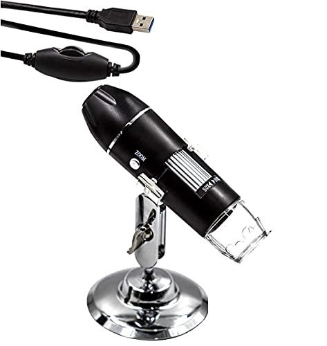 Microscópio Zoom 1600x Cam 2.0 Mp Profissional Digital Usb