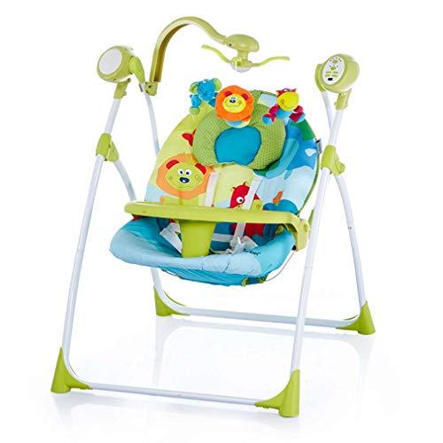 ZWQ kids Réglable bébé Chaise à Bascule, bébé Chaise électrique à Bascule, Chaise de Confort Nouveau-né, Chaise à Bascule,B