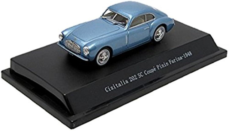 Cisitalia 202 SC 1948 Blau 1 43 Model 54001 B00D1RB058 Qualitätsprodukte  | Reparieren