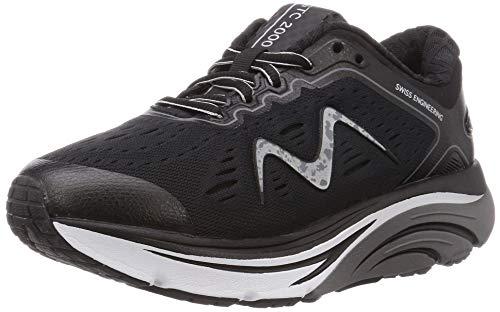 MBT Rocker Bottom Shoes Women's – Athletic Running Walking Shoe MBT-2000 - Black