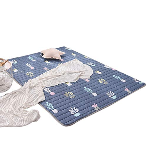 Buy Crawling mat Mesurn Baby, Cotton Fabric, Moisture Absorbing, Back Anti-Slip Texture, Machine Was...