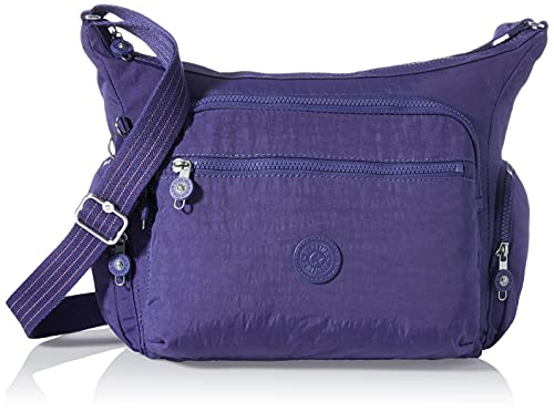 Kipling Gabbie - Borsa a tracolla da donna, taglia unica, Blu (Blu (Galaxy blue)), One Size