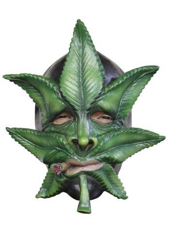 Generique - Kanabis Blatt Maske für Erwachsene