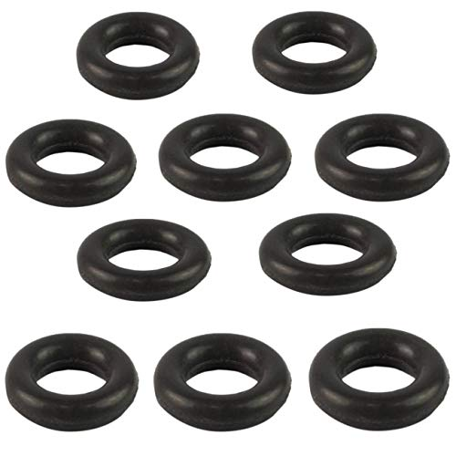 Deebior 10pcs Engine Fuel Injector O-Ring Gaskets 13641437487 Compatible With BMW 128 320 323 325 328 330 525 528 530 545 550 645 650 745 750 X3 X5 Z3 Z4 N46 M54 N52 N62