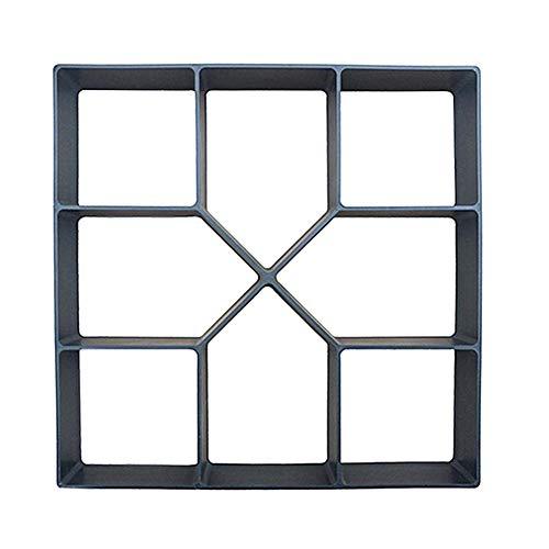 Matefielduk bakvorm voor cement, tuin, beton, cement, herbruikbaar, voor doe-het-zelvers, tuindecoratie, staal Con Conector Usb