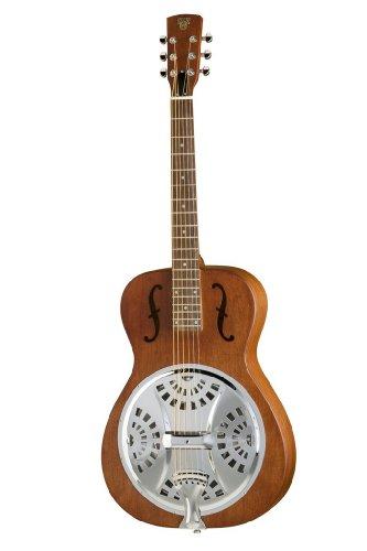 Epiphone Dobro Hound Dog Round Neck - Guitarras acústicas con cuerdas metálicas, color vintage brown