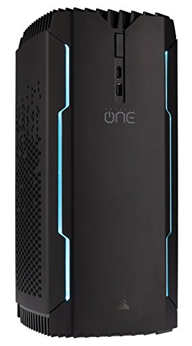 Corsair CS-9000011-UK One Pro M.2 Gaming Desktop (Black) - (Intel...