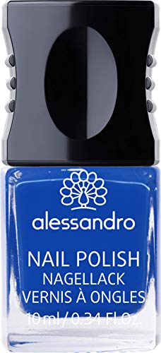 alessandro Nagellack 93 Deep ocean blue, 10 ml