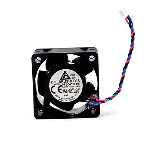 Ayazscmbs kompatibel für 1pcs PFB0412EHN -SE00 12V 0.72A 3Wire 4cm Server Cooler Lüfter 40x40x28mm