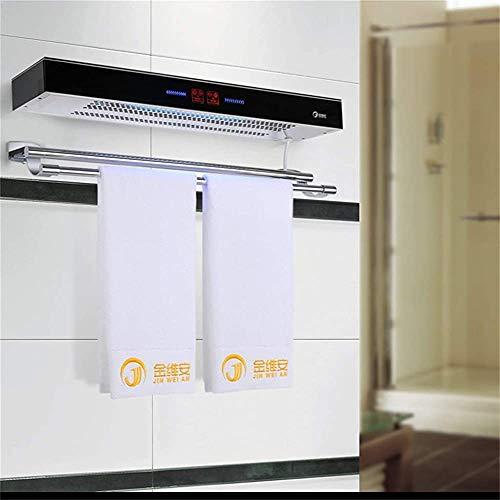 Pista eléctrica calentador de toallas montado en la pared inteligente de esterilización temperatura del radiador secado baño cocina del hogar,as shown