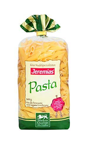 Jeremias Penne, Pasta - Hergestellt mit reinem Hartweizengrieß, 4er Pack (4 x 500 g Beutel)