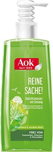 Aok Klärendes Gesichtswasser mit Ginseng-Extrakt, 6er Pack (6 x 200 ml)