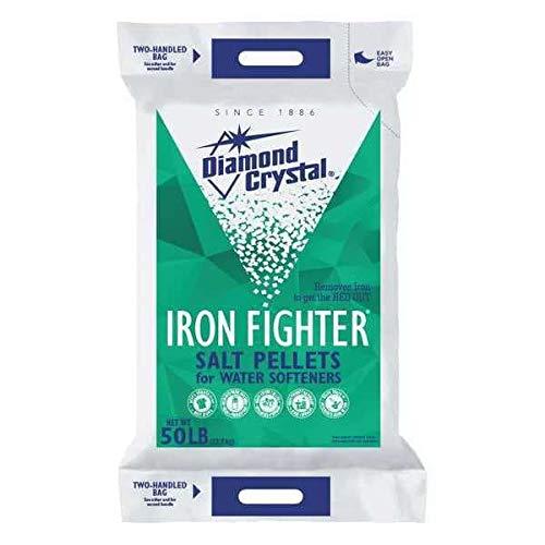 Diamond Crystal Water Softener Salt, White, 50 lb, Pellets (Pack of 49)