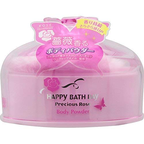 HAPPY BATH DAY Precious Rose(ハッピーバスディ プレシャスローズ) ボディパウダー N