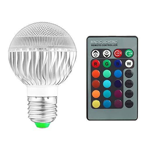 E27 8 W 2 miljoen kleur RGB LED heldere felle lamp met afstandsbediening