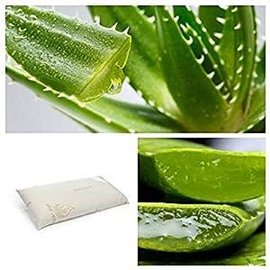CONFORT HOME M.T. (135) Almohada VISCO-ELÁSTICA Aloe Vera 100% (Almohada 135 CM)