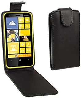 QGTONG-AE Pure Color Vertical Flip Leather Case for Nokia Lumia 620