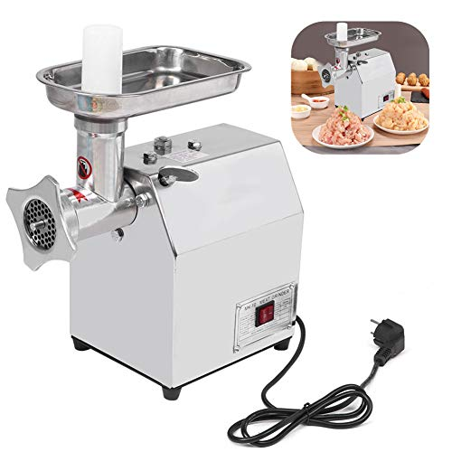 Elektrische Gehaktmolenmachine, Roestvrij staal Multifunctioneel Elektrisch Huishouden Commercieel Lijst Gehaktmolen Vlees Plantaardig Worstmolen Malende Machine