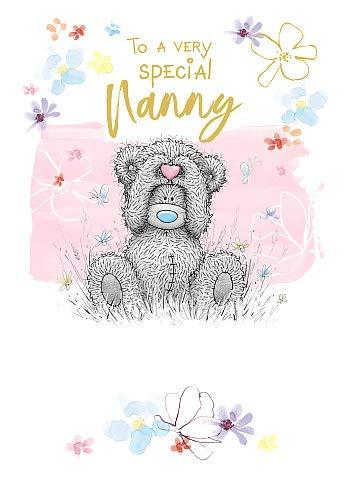 Nanny Me To You Bear Tatty Teddy Birthday Card