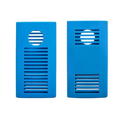Andoer Capa protetora SSD com capa de silicone elástica para tecnologia G G-DRIVE Mobile SSD 1 TB 2 TB azul