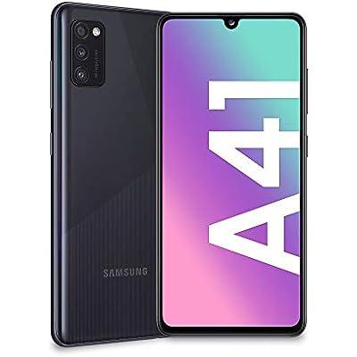 Samsung Galaxy A41 Smartphone (Super AMOLED - Double SIM - 4 GB RAM, 64 GB ROM - Android 10.0) Negro