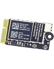 قطعة غيار بطاقة شبكة لاسلكية مطار بلوتوث لاسلكية من ويلهوم BCM943224PCIEBT2 لجهاز MacBook Air 11 بوصة A1370 13 بوصة A1369 (منتصف 2011) 1 بوصة A1465 13 بوصة A1466 (منتصف 2012)