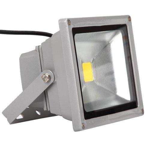 Fuloon 20W, Luce di Inondazione, Impermeabile, per Uso Esterno, Lampada a LED, Bianco Caldo
