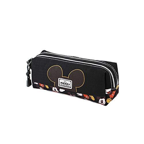Mickey Mouse True-Estuche Portatodo Cuadrado