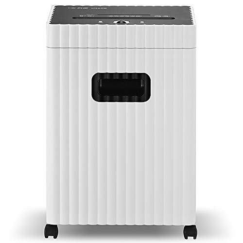 Find Discount HYCy Paper Shredder, Class 5 High Security Office Multifunction Paper Shredder, Docume...