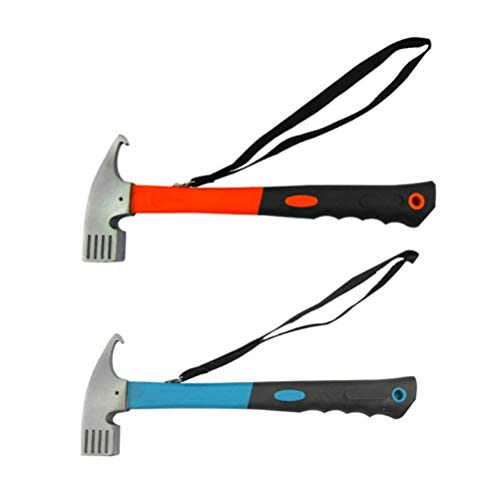 Release Portátil de Acero al Aire Libre Camping Hammer Told Twink Staca Nail Puller Remover Herramienta Multifuncional
