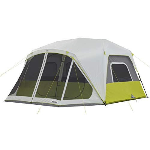 CORE 10 Person Instant Cabin Tent with Screen Room - 14.5' x 14'