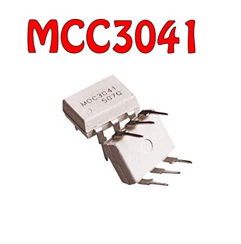 10 piezas MOC3041M DIP-6 MOC3041 6-PIN