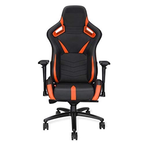 KOKOF Game Chairs, Office Chairs with armrests,Increase Gaming Chair Game Chair Home Ergonomic Office Chair Anchor Live E-Sports Chair-Orange