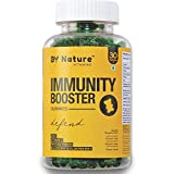 By Nature Immunity Booster Vitamin Gummies - with Vitamin C, E, Zinc, Blueberry & Elderberry Extract for Immunity, Growth & Healing