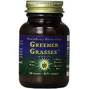 Healthforce Greener Grasses, Powder, 1-Ounce (Pack of 2)