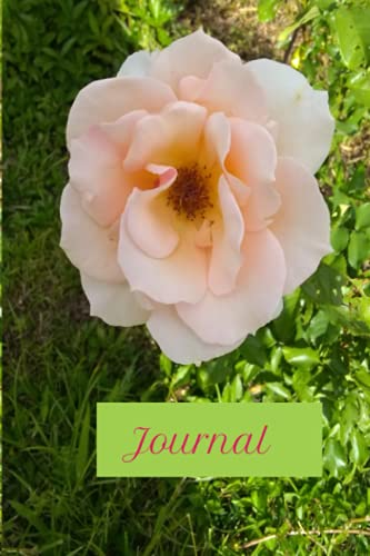 Journal: A Rosy Blank Lined Journal for Your Blooming Soul