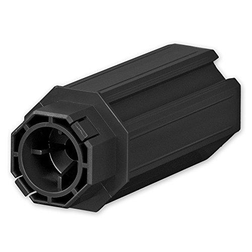 Walzenkapsel für Achtkant Rolladenwelle SW 50, Aufnahme für Kugellager Ø 28 mm, SW 40 Aufnahme für Mini-Gurt- und Begrenzungsscheiben, von EVEROXX®