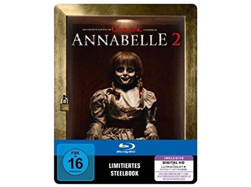 Annabelle 2 - Exklusiv geprägte Steelbook Edition [Limited Edition 2000 Copies] - Blu-ray