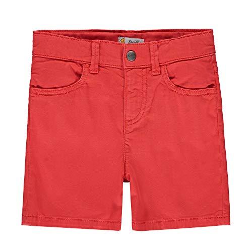 Steiff Baby-Jungen Shorts, Rot (Grenadine 4012), 86 (Herstellergröße: 086)