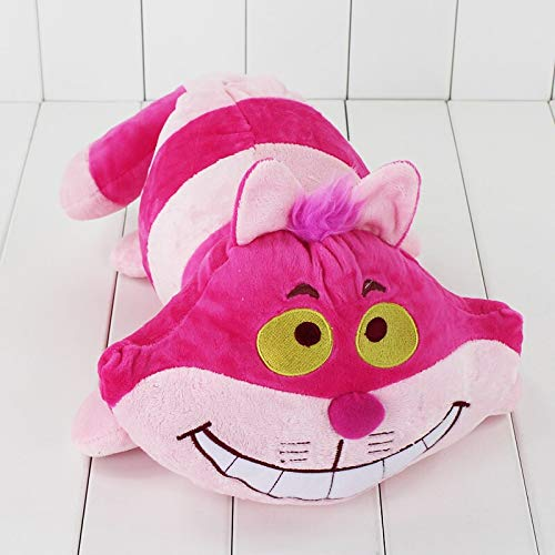 lliang Plüschtier 40cm Pink Cartoon Animal Soft Stuffed Cheshire Cat Plush Toys for Children Birthday Gifts