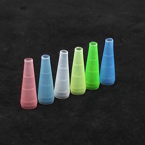 DENGHUI-SY, 30pcs / Pack Los Colores Disponibles Coloridos Shisha Boquilla, Shisha/Caño de Agua/Sheesha/Chicha/Narguile Manguera Boca Consejos Accesorios (Color : Multi)