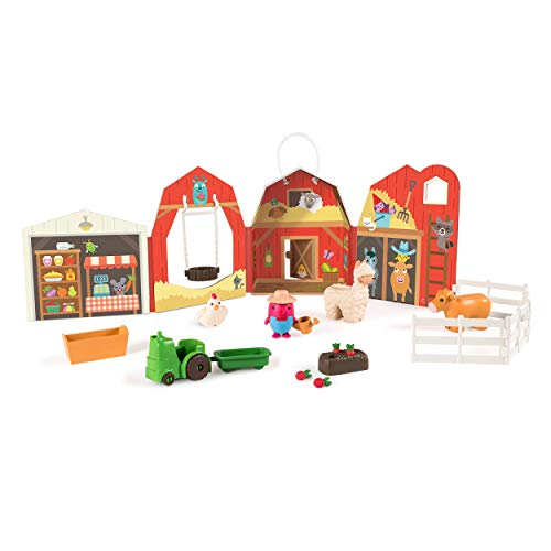Sago Mini  Robin'S Farm  Portable Playset with Figures  for Ages 3 & Up  Multicolor