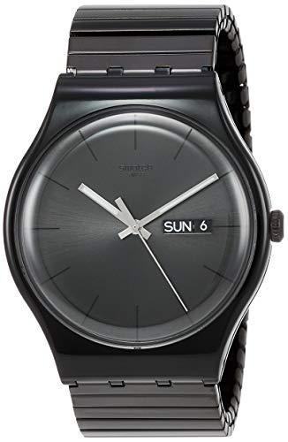 Swatch Orologio da Uomo Digitale al Quarzo con Cinturino in Plastica –...