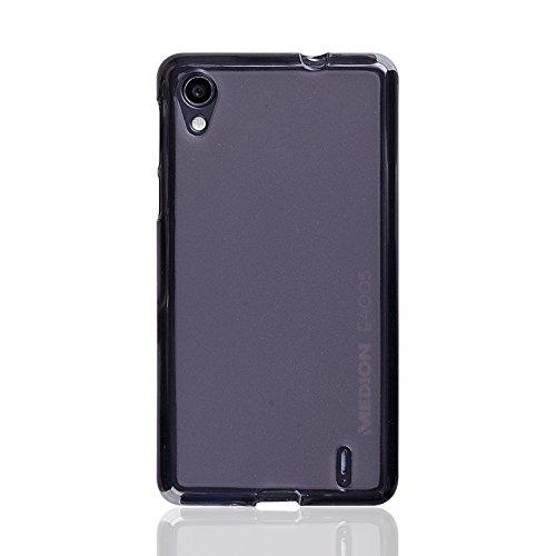 caseroxx TPU-Hülle & Bildschirmschutzfolie für Medion Life E4005 MD 99253, Set (TPU-Hülle in schwarz-transparent)